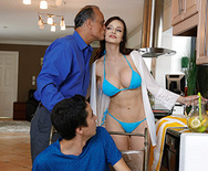 Stepmom Gets Soaked - 1