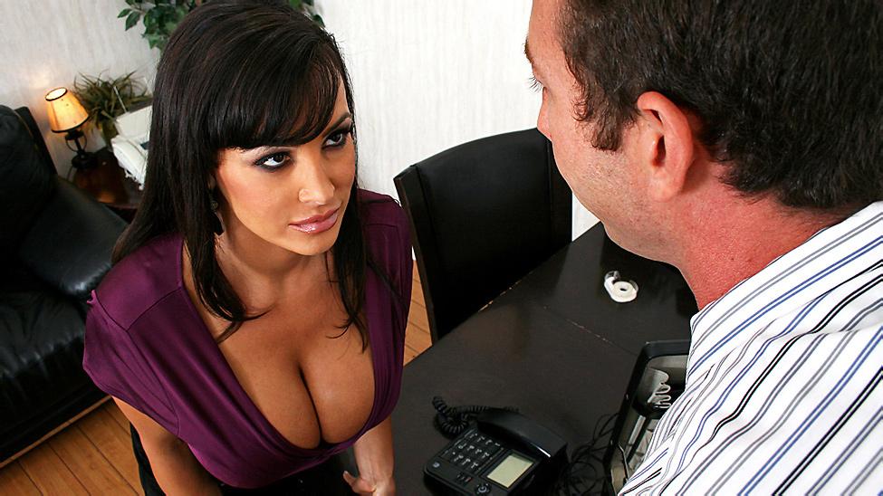 Big tits at work lisa ann