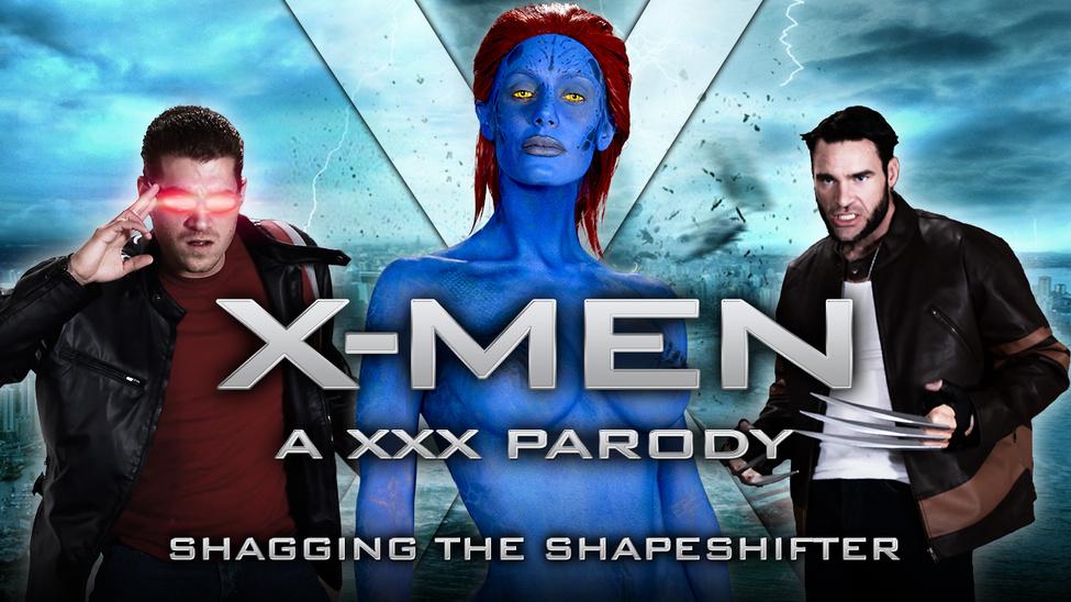Vikiporn xmen parody video with magneto fucking big tits