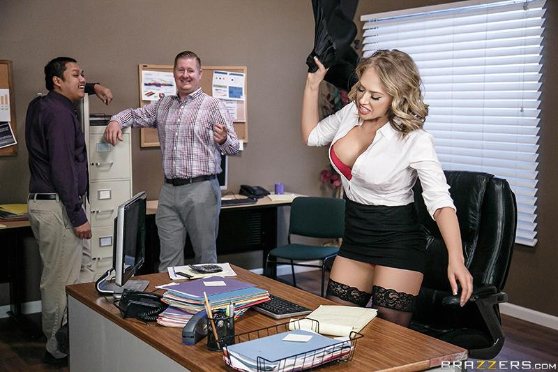 Office Worker Wetting Panic