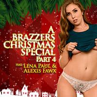 White tits christmas cum