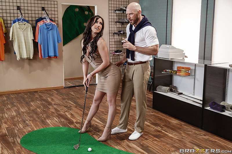 Pornstars Like It Big – Pounded At The Pro Shop – Jennifer White & Johnny Sins