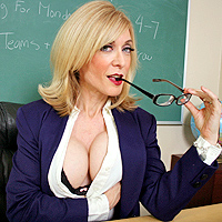 Teacher nina porn hartley