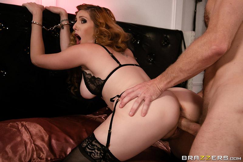Lesbian Strapon Bondage Anal