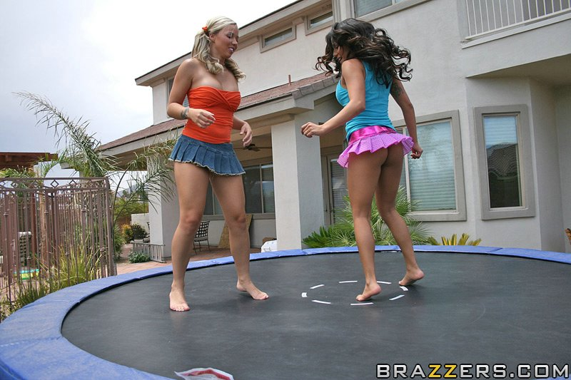 That boob on trampoline how