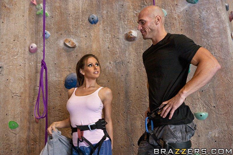 Brazzer rock climbers blowjob