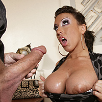 Troy large receives his cock polished