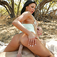 Naked grandma getting spankings