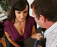 Reply, Big tits at work lisa ann consider, that