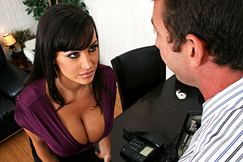 Big tits at work lisa ann something