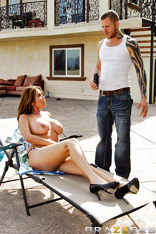 Big butt takes big cock