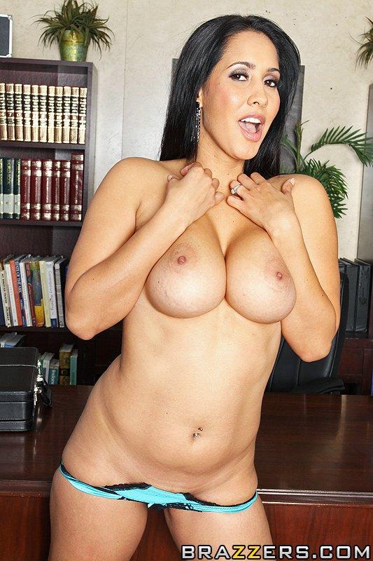 Latina stocking legs naked