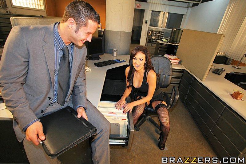 Benson brazzers breanne office