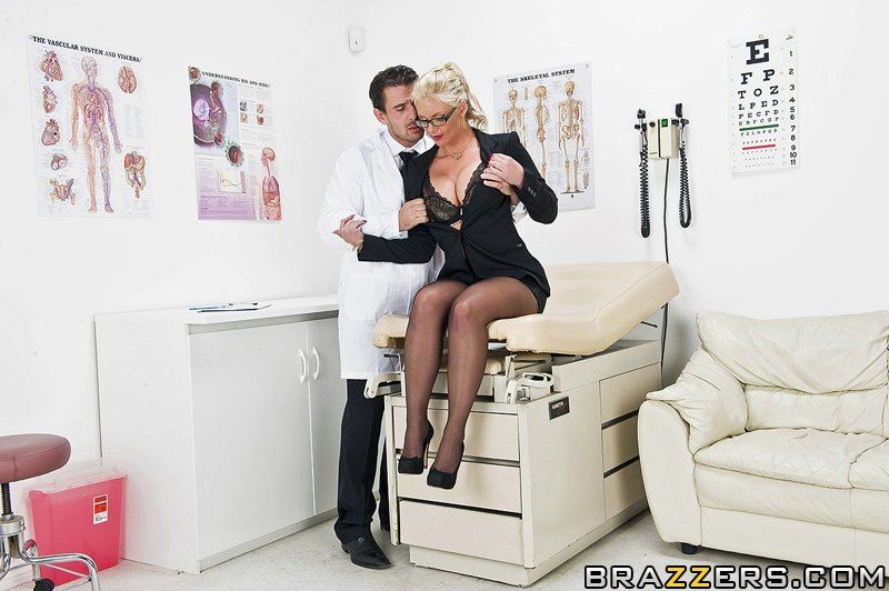 Orgasm at the doctor
