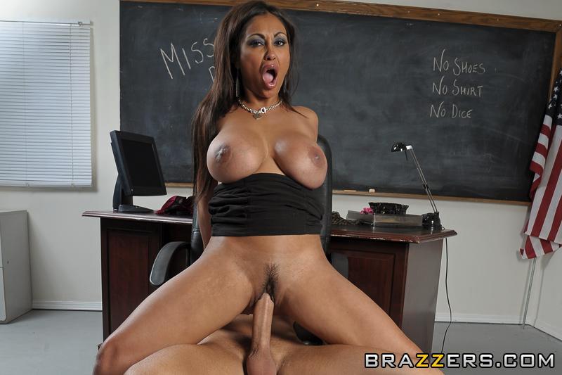 Nice teacher tits