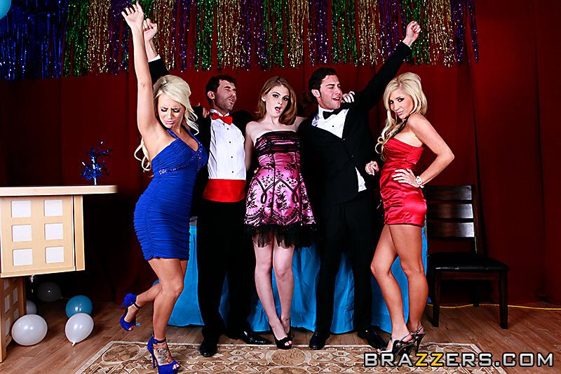 night on reagan prom Faye fucked