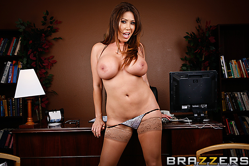 Big Tits At Work Sativa Rose