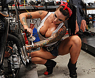 Mechanic mammaries christy mack brazzers