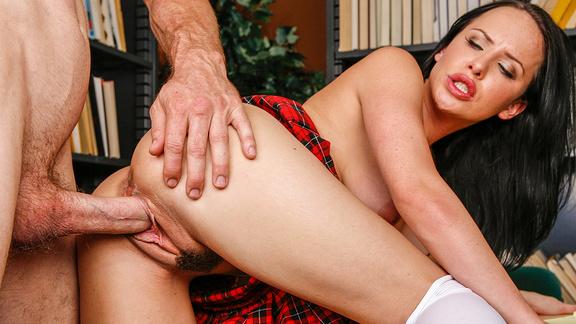 strapless pegging porn