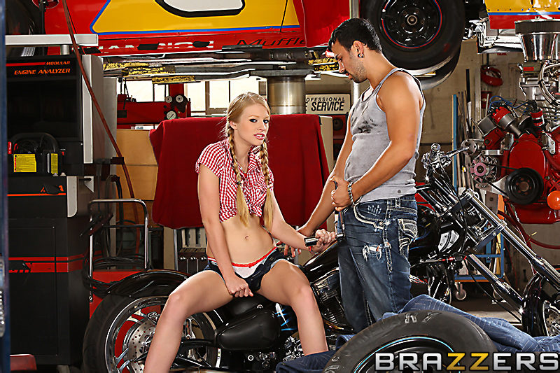 motorcycle Pornstar sex on