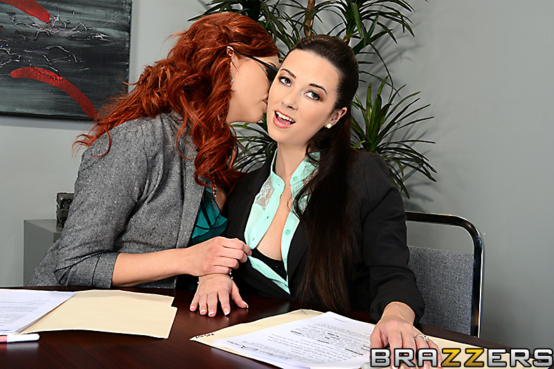 Perfect Red Head Rides Cock