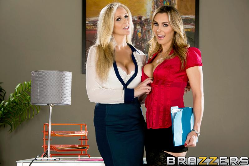 Mature blonde having sex