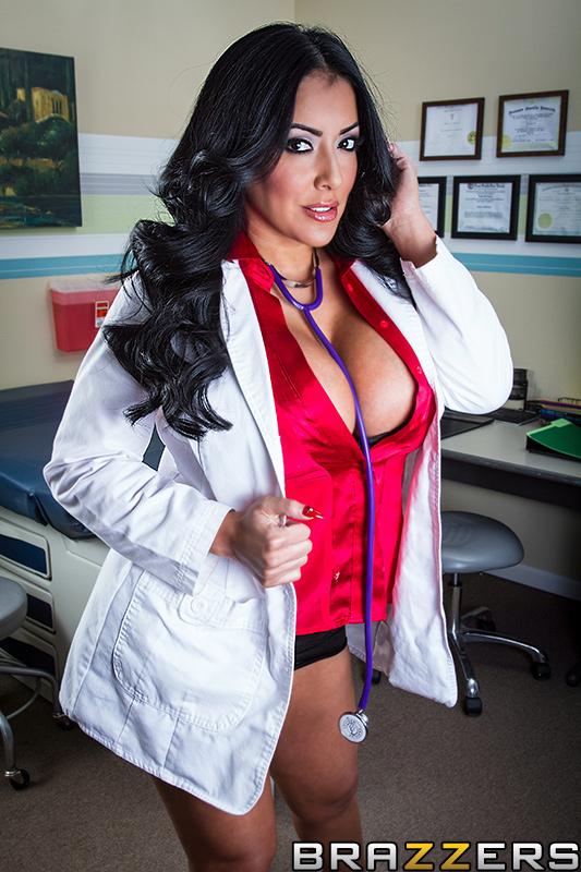 Hot doctor with big boobs kiara mia