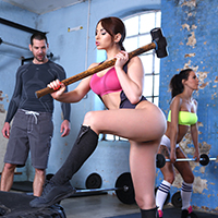 Porn brazzers workout