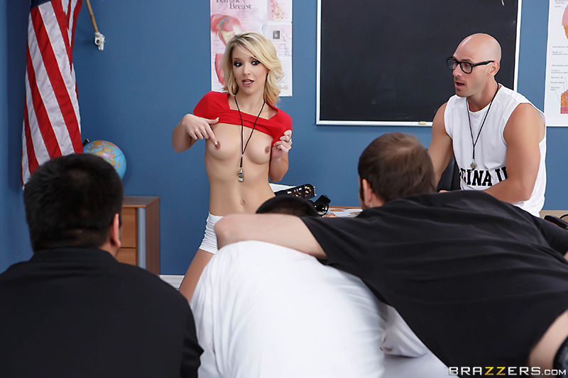 Sex teacher having milf school