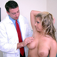 Examination images breast