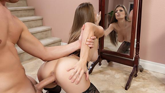 Hot lesbian milf threesome