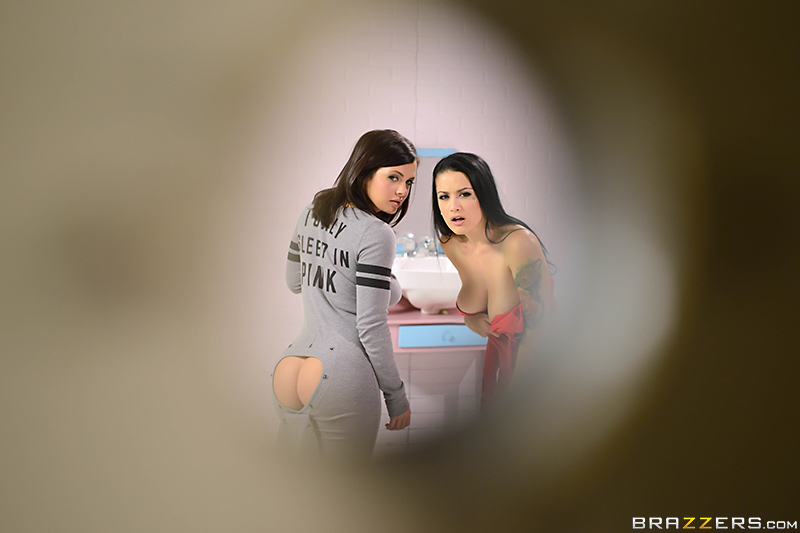 Katrina Jade  - Onesie Party assworship bigtits bigtitsworship blackhair brunette brazzersnetwork @2291/katrina-jade