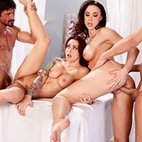 Chanel preston and monique alexander lets get facials